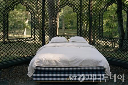 ↑해스텐스의 초고가 침대 '비비더스' 이미지