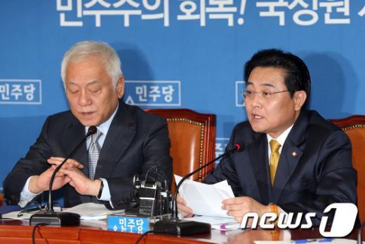 [사진]전병헌 '朴대통령 대탕평 인사 거짓말'