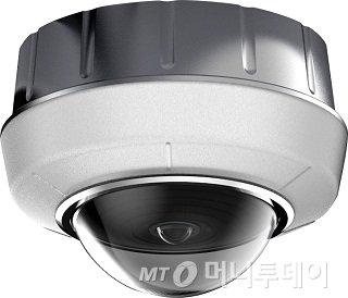 NVR 시큐리티 시스템의 전방위 카메라/사진제공=아마노코리아