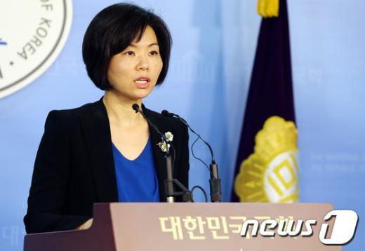 민현주 새누리당 대변인. 2013.5.30/뉴스1 © News1   허경 기자