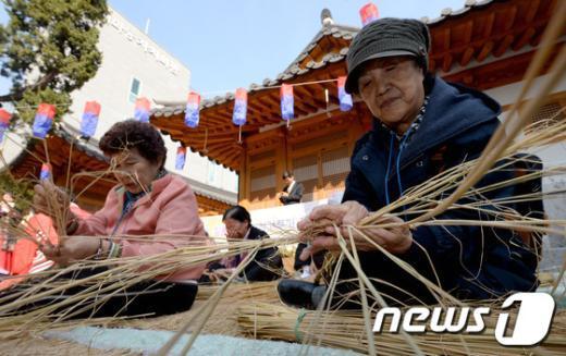 [사진]어르신들의 솜씨 자랑