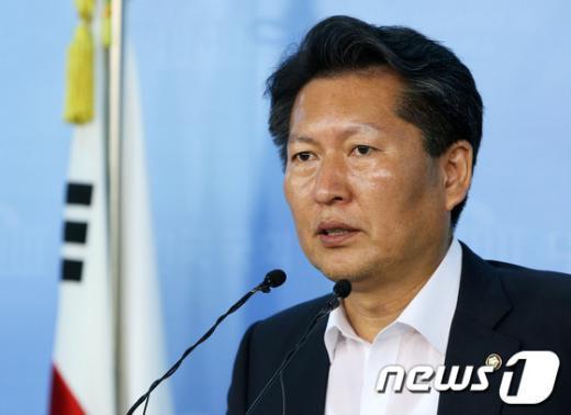 정청래 민주당 의원. 2013.9.2/뉴스1 © News1 오대일 기자