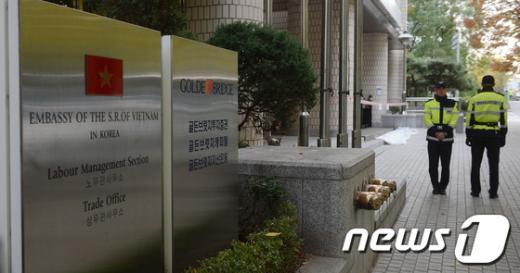 서울 서대문구 충정로 골든브릿지 빌딩. /뉴스1 © News1 손형주 기자