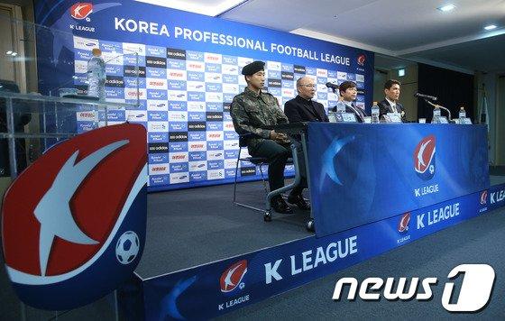 [사진]상주-강원 'K리그 승강플레이프' 미디어데이