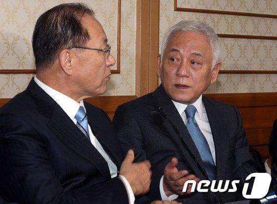 [사진]'정국정상화 4자회담'