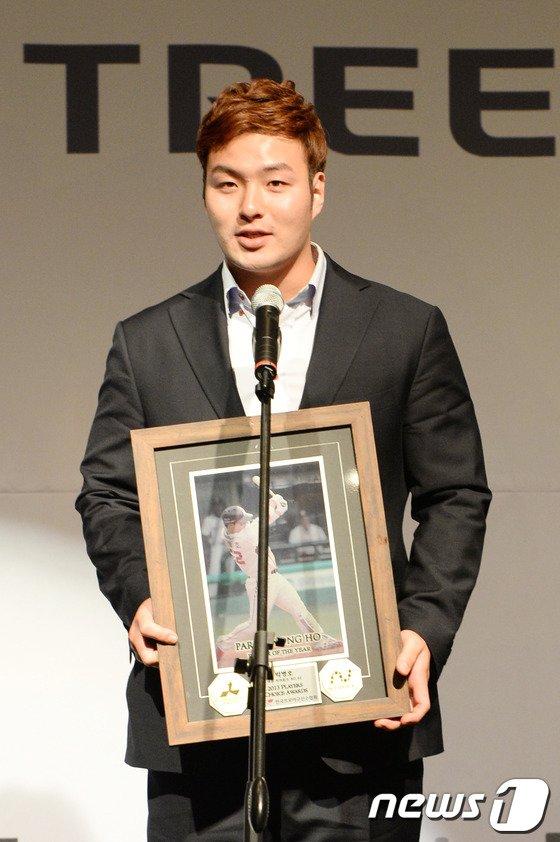 [사진]넥센 박병호, 2관왕