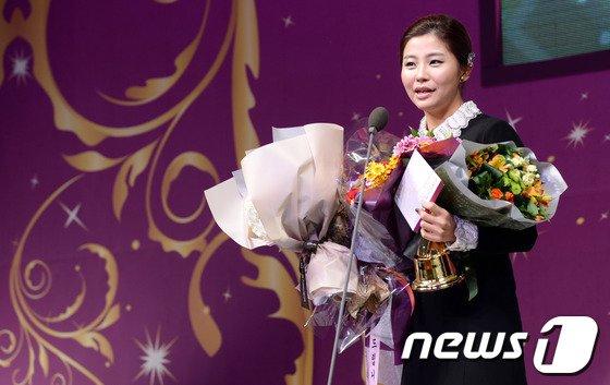 [사진]여자골프 베스트드레서 '양수진'
