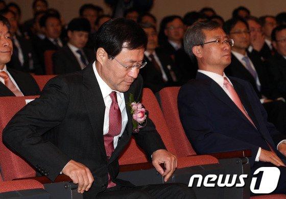 [사진]김진태 신임 검찰총장 취임식