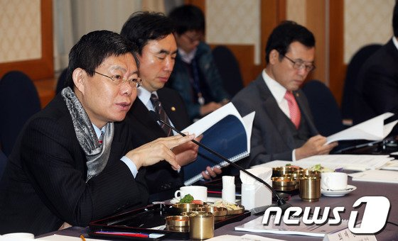 [사진]민주당 예결위원 예산안 설명회