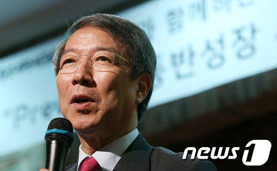 정운찬 전 총리./뉴스1 © News1 양동욱 기자