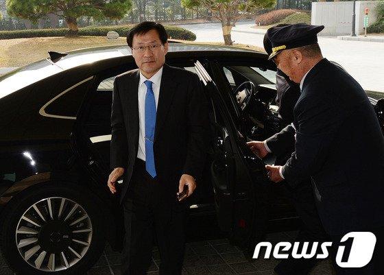 [사진]김진태 신임 검찰총장, 공식업무 시작