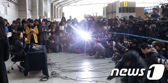 [사진]김연아 향한 뜨거운 관심