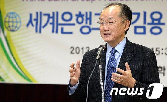 [사진]특별강연 갖는 세계은행 김용 총재