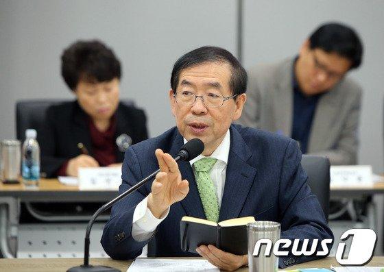 [사진]인사말하는 박원순 서울시장
