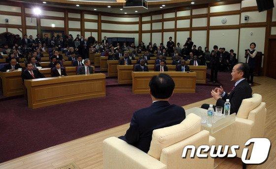 [사진]김용 총재, 아프리카 새시대 포럼 참석