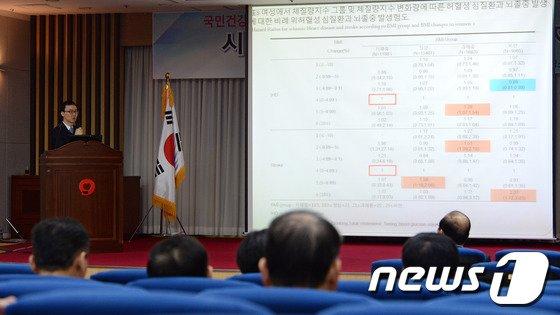 [사진]연구결과 발표하는 박영민 전문의