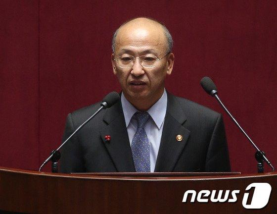 [사진]문형표 장관, 본희의 인사말