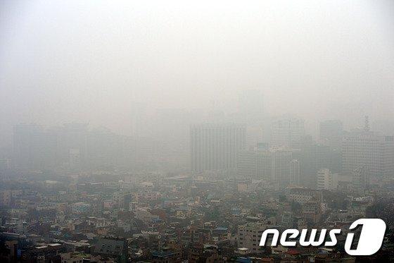 [사진]'잿빛 서울'