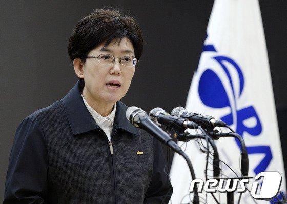 """[사진]최연혜 사장 """"명분도 실리도 없는 불법 파업"""""""