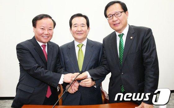 [사진]국정원개혁특위, '잘 해봅시다'