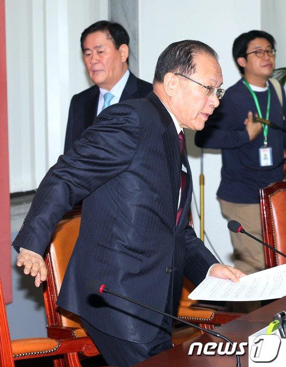 [사진]새누리당 최고위원회의