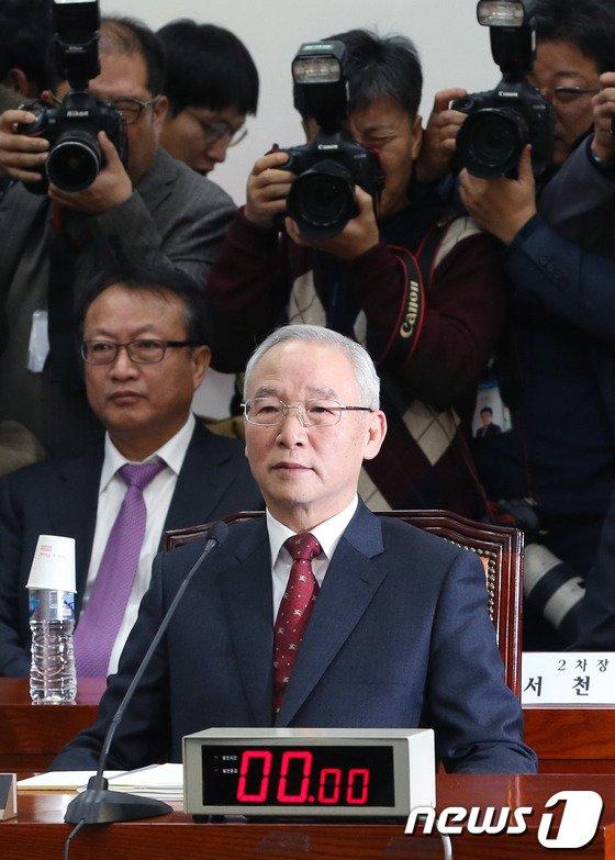 [사진]남재준 국정원장, '어떤 개혁안 내놓을까?'
