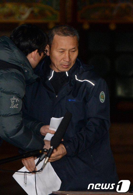 [사진]박태만 부위원장 '종교계에 호소'