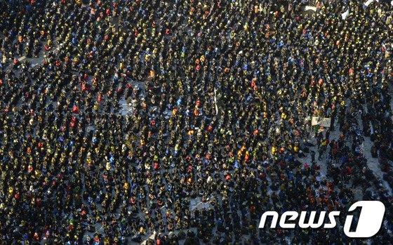 [사진]민주노총 총파업 '서울광장 대규모 집회'
