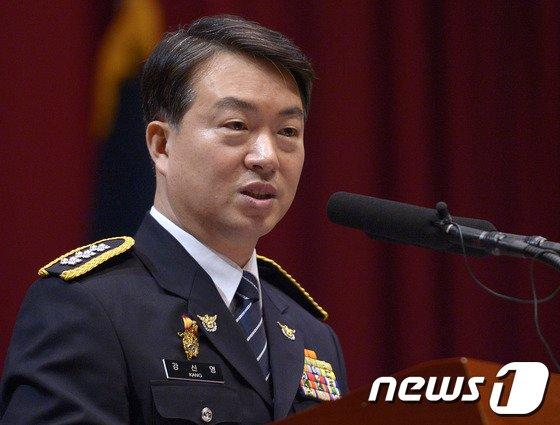 강신명 신임 서울지방경찰청. /뉴스1 © News1 박지혜 기자
