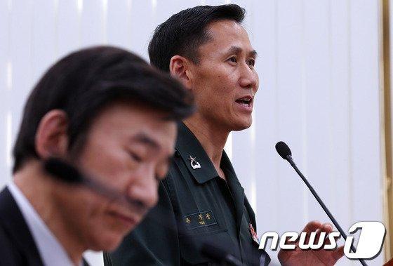 [사진]국회, '한빛부대, 日서 실탄제공' 관련 현안보고