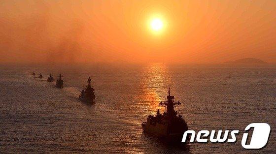 [사진]해군 2함대 해상기동훈련