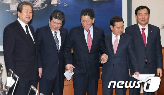[사진]'국토교통위 손 잡아요'