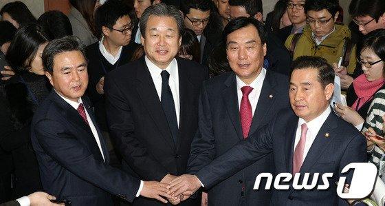 [사진]여야, 철도파업 철회 '전격 합의'