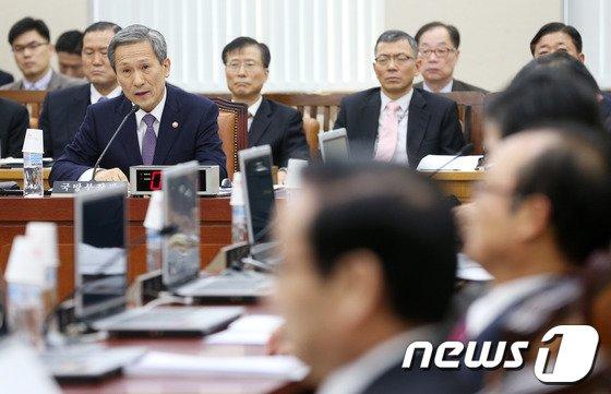 [사진]국방위, '日 한빛부대 실탄 제공'관련 현안보고