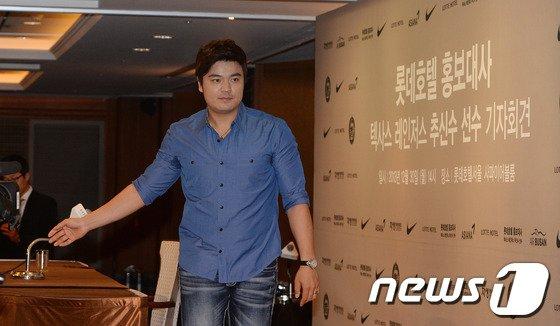 [사진]'금의환향' 추신수 귀국 공식 기자회견