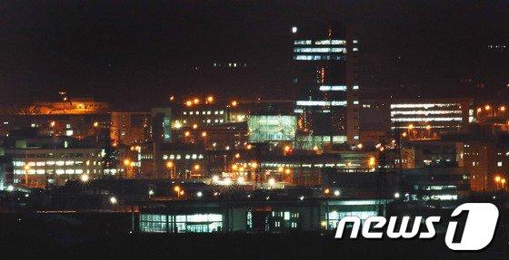 개성공단 전경 2013.12.29/뉴스1 © News1 오대일 기자