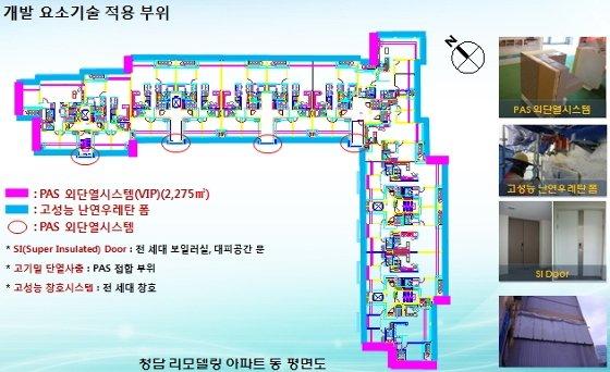 서울 강남구 청담동 '래미안청담로이뷰' 아파트에 적용된 '제로에너지' 기술 . / 자료제공=한국건설기술연구원