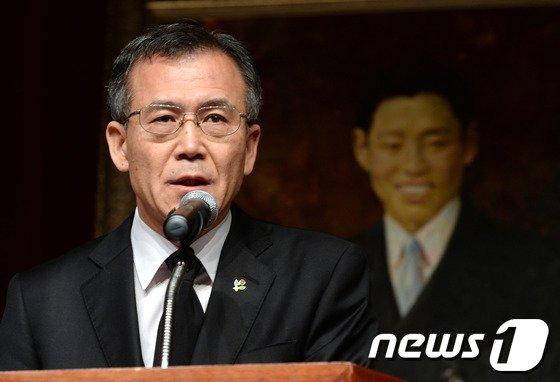 [사진]기념사하는 안중현 서울지방보훈처장