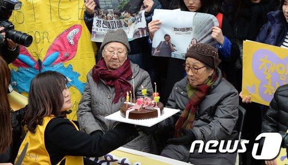 [사진]정기 수요시위, 벌써 22돌