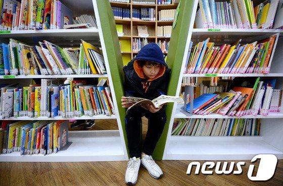 [사진]'독서 삼매경'