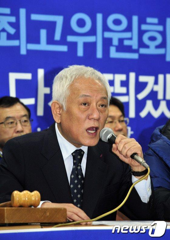 [사진]광주 민심에 호소하는 김한길 대표