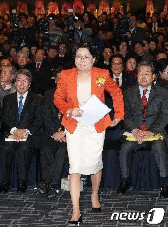 [사진]서울시장 출사표 던진 이혜훈