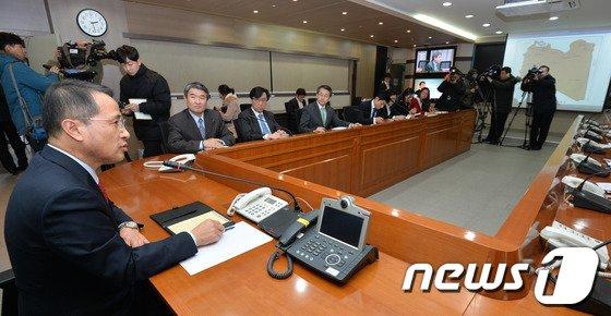 [사진]코트라 한석우 관장 피랍 '외교부 대책고심'