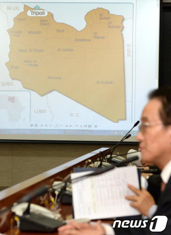 [사진]코트라 한석우 관장 피랍, 분주한 외교부