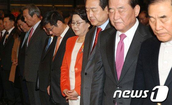 [사진]이혜훈 출판기념회, 새누리당 중진 대거 참석