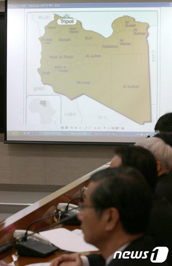 [사진]한석우 무역관장 피랍 '대책논의하는 외교부'