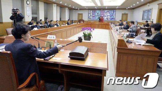 [사진]올해 첫 양형위원회