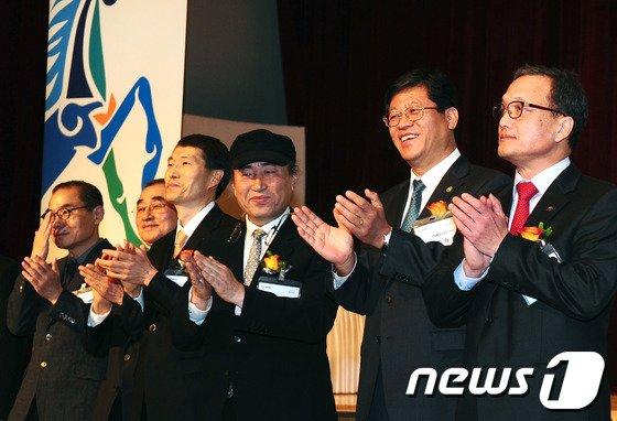 [사진]디자인업계 신년인사회 참석한 김재홍 차관
