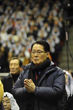 박지원 전 민주당 원내대표. 2014.1.8/뉴스1 © News1 김태성 기자