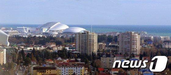 [사진]해안과 어우러진 피시트 올림픽 스타디움